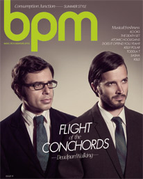 BPM Conchords cover - Issue 91