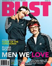 Conchords cover on Bust magazine