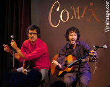Flight of The Conchords at Comix