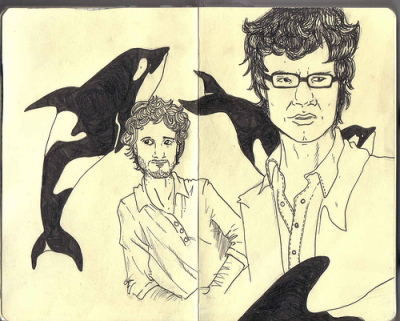 Flight of The Conchords by Alice