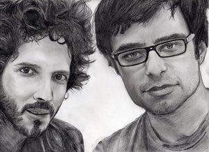 Flight of The Conchords by Valerie