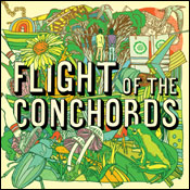 Flight of The Conchords CD cover