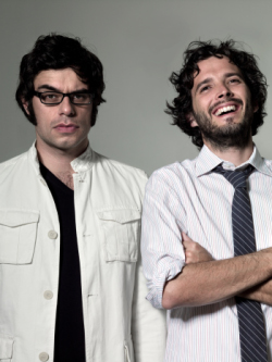 Flight of The Conchords by Amelia Handscomb