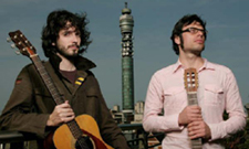 Flight of The Conchords BT tower London 2005