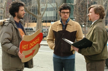 Flight of The Conchords - shot from HBO TV series Flight of The Conchords