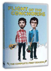 Flight of The Conchords HBO DVD cover
