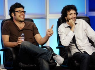 Flight of The Conchords - Jemaine Clement and bret McKenzie - July 2007