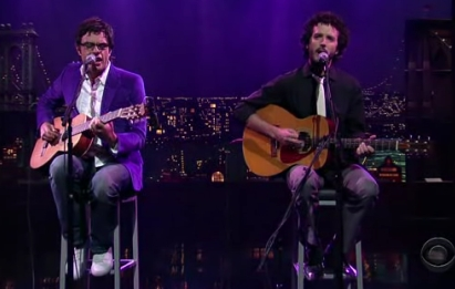 Flight of The Conchords on Letterman June 11 2007