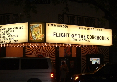 Flight of The Coonchords - sold out gig