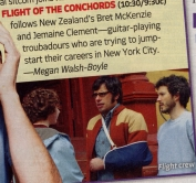TV Guide clipping of Flight of The Conchords - June 2007