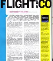Harp magazine Sept-Oct 2007 - Flight of The Conchords