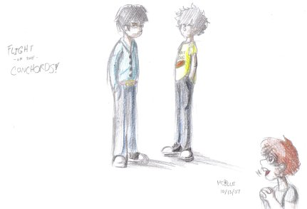 By Nicolle - Ocotber 2007 - Flight of The Conchords