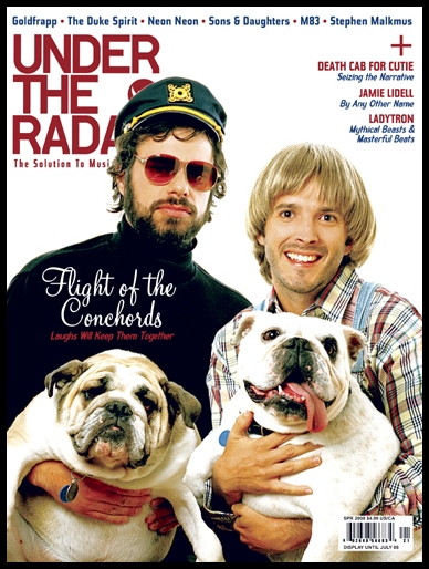 Flight of The Conchords - Under The Radar magazine cover April 2008